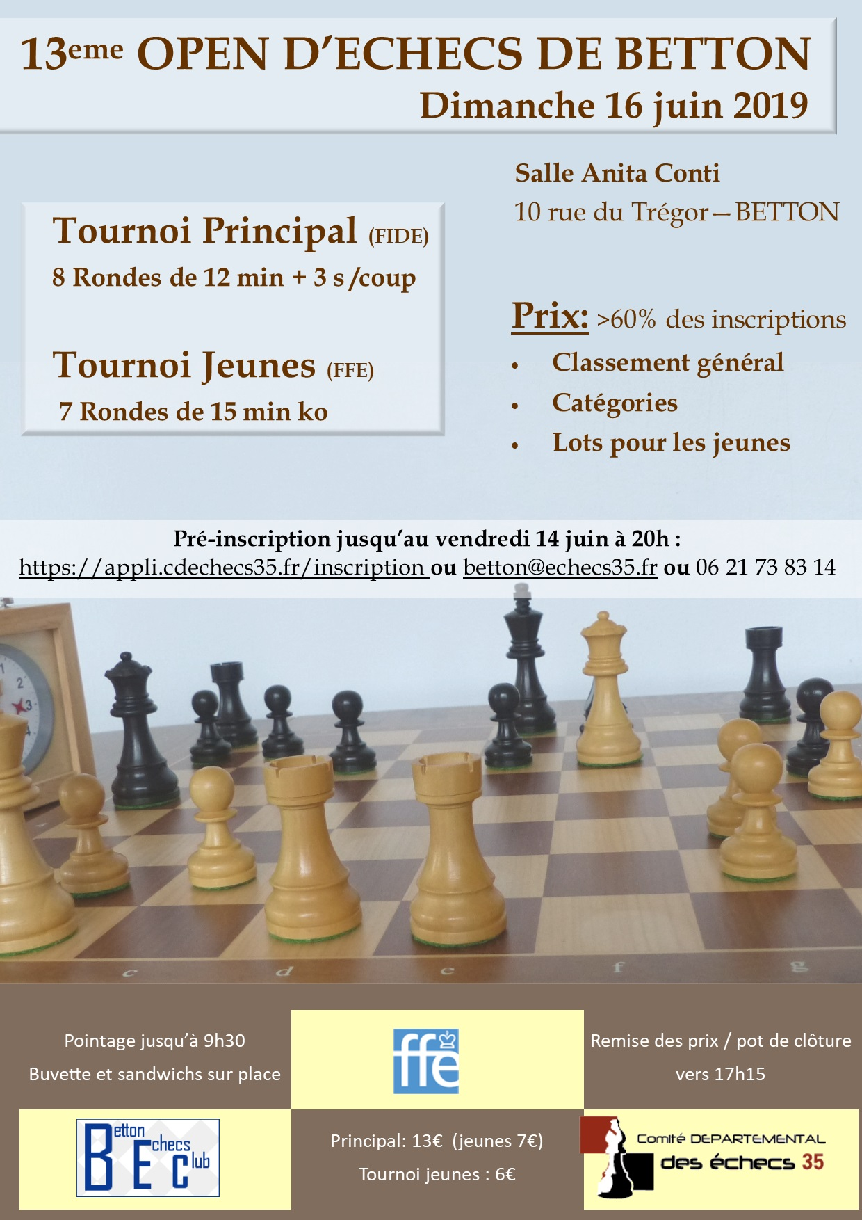 Affiche Open de Betton